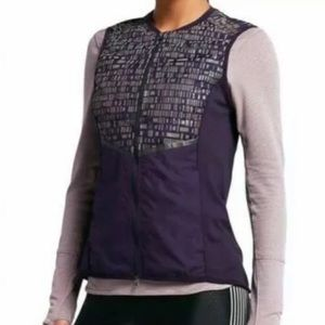 NIKE Aeroloft 800 Flash Running Vest Purple-XS